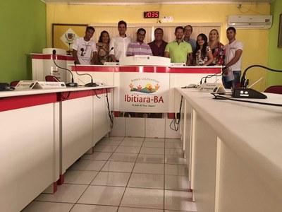 Fotos do curso do Interlegis em Ibitiara