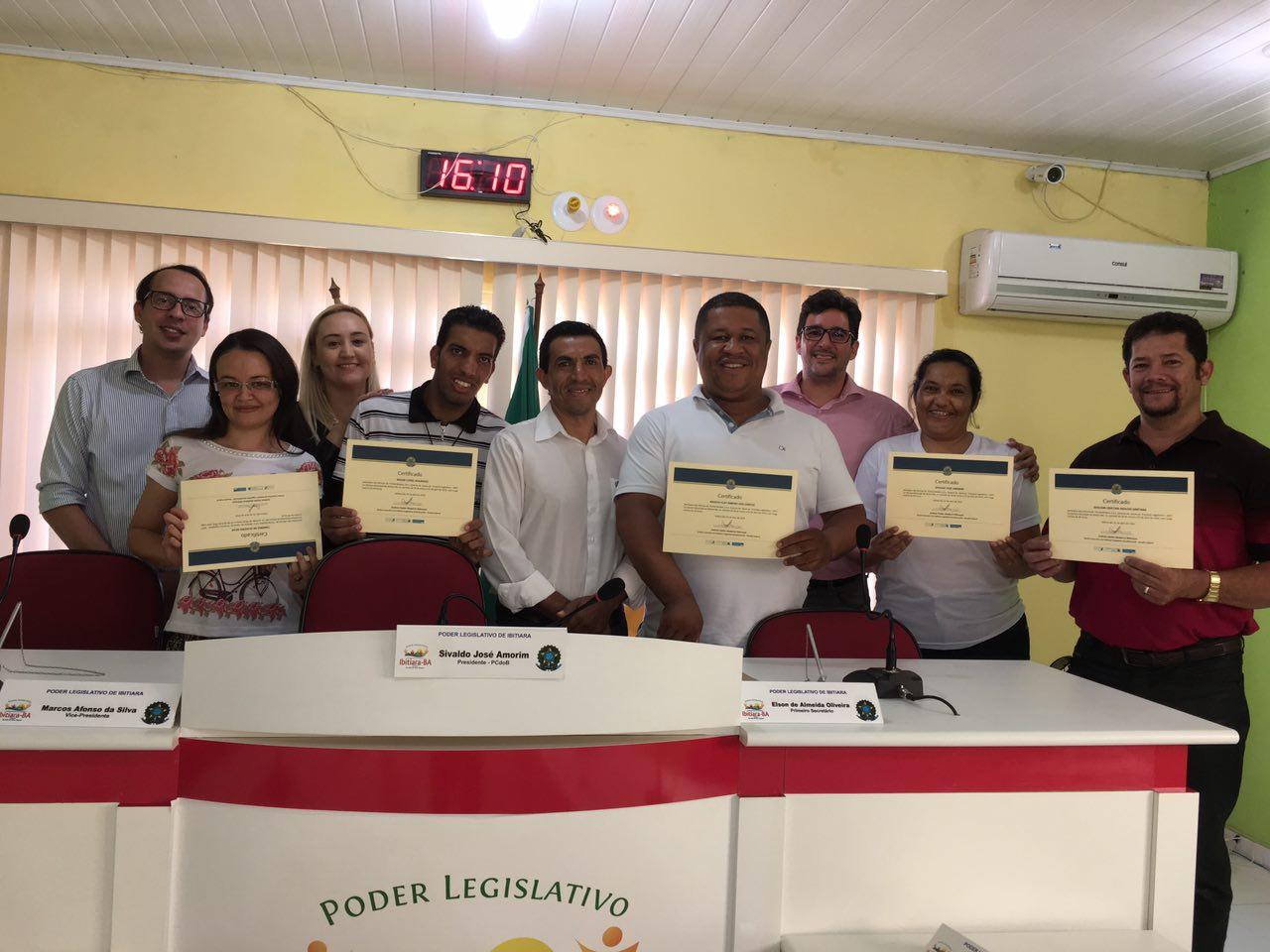 Câmara de Cafarnaum participa de Oficina Interlegis